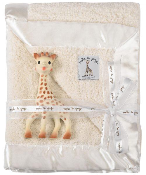 Sophie La Girafe battaniyeli set