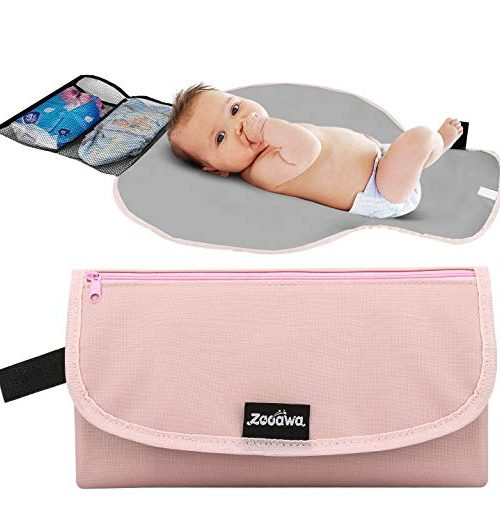 Zooawa Portable Diaper Changing Pad Pink