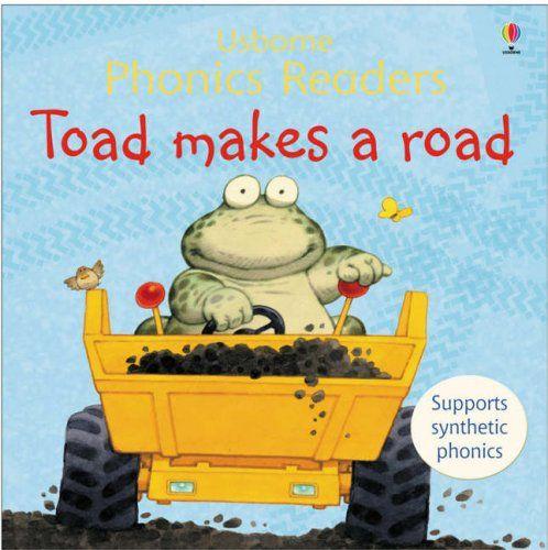 Toad Makes A Road Phonics Reader