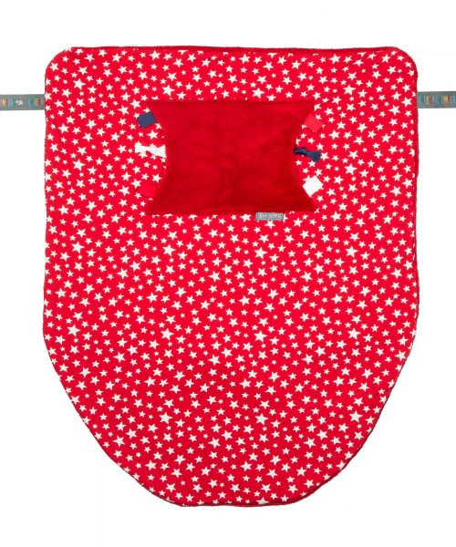 Cheeky Chompers Blanket Red Stars