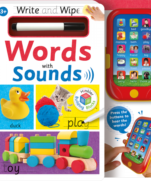 Building Blocks Write and Wipe With Sounds: Words