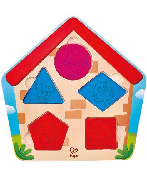 Evdeki Geometri Yapboz