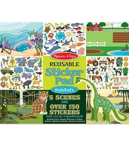 Melissa & Doug Tak Çıkar Çıkartma Kitabı - Hayvanlar