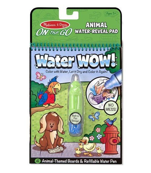 Melissa & Doug Water Wow! Su ile Boyama Kitabı - Hayvanlar
