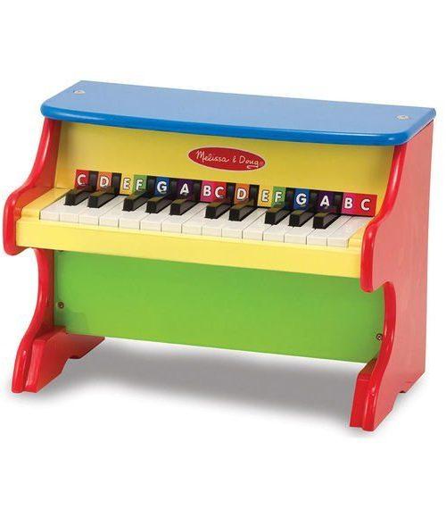 Melissa & Doug Ahşap Piyano - Çalmayı Öğreniyorum