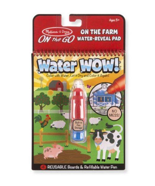 Melissa & Doug Water Wow! Su ile Boyama Kitabı - Çiftlik