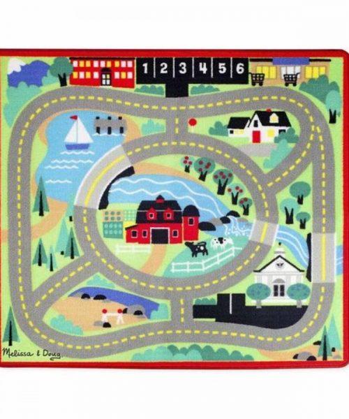 Melissa & Doug Oyun Halı Seti - Arabalar