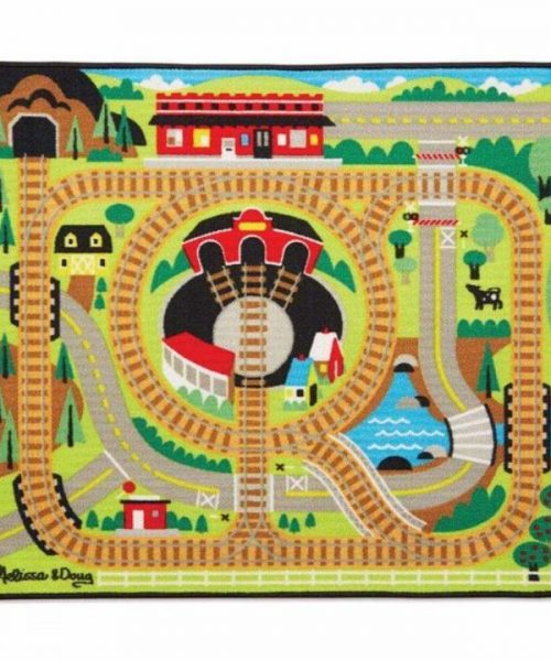 Melissa & Doug Oyun Halı Seti - Tren