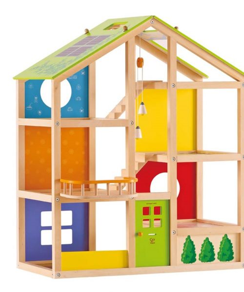 Mobilyalı Bebek Evi