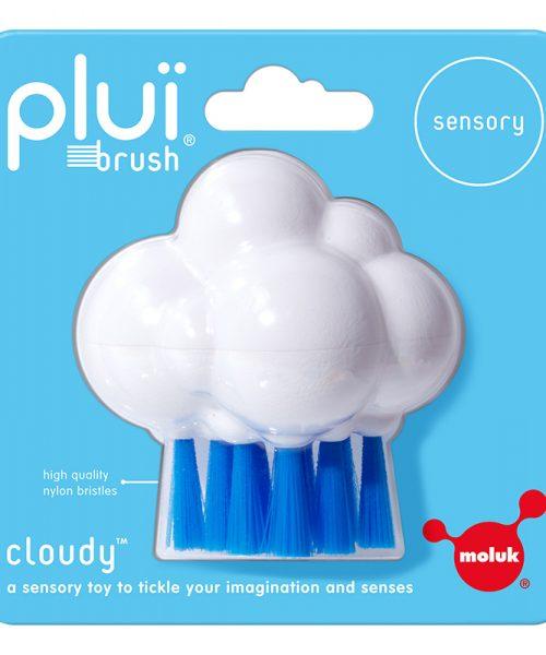 Plui Brush Cloudy (Beyaz-Mavi)