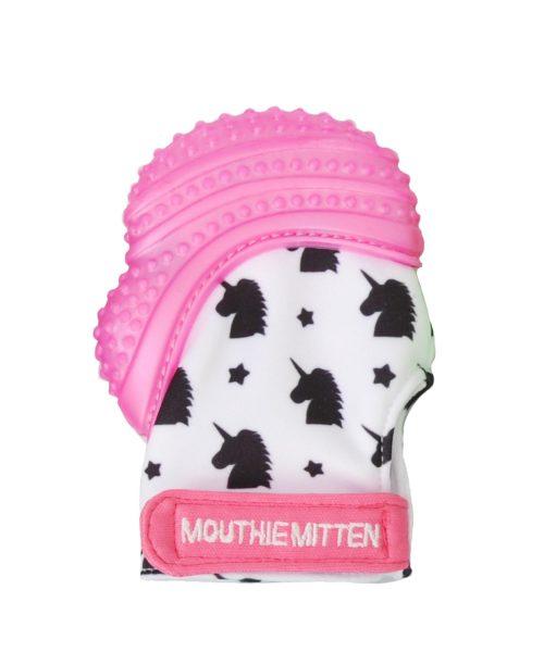 MOUTHIE MITTEN Diş Kaşıyıcı Eldiven - Pembe