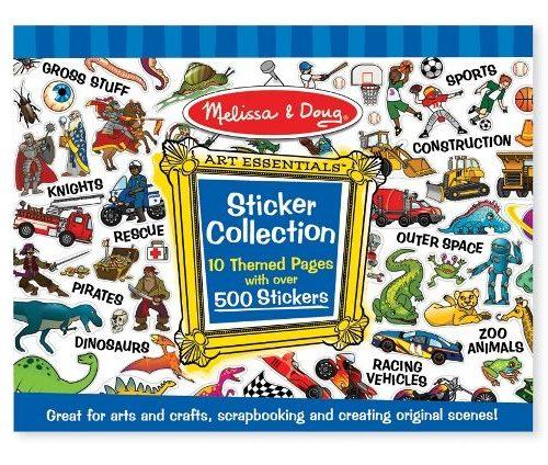 Melissa & Doug Çıkartma Koleksiyonu - Mavi