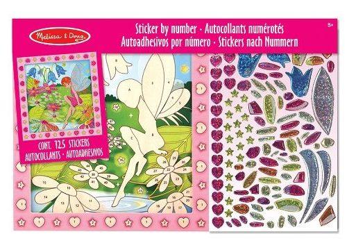 Melissa & Doug Tablo - Yapıştır Yarat - Çiçek Bahçesi ve Peri