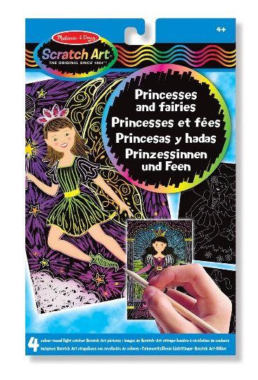 Kazıma Sanatı- Renkleri Ortaya Çıkar - Prenses ve Periler