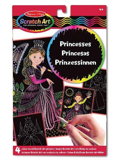 Melissa & Doug Kazıma Sanatı - Renkleri Ortaya Çıkar - Prensesler