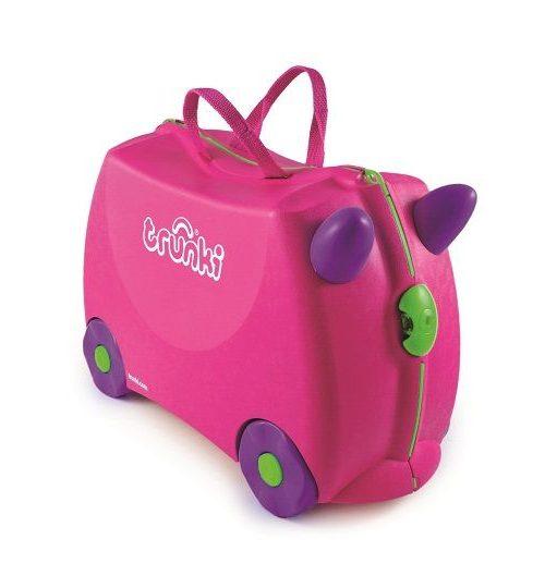Trunki Çocuk Bavulu - Pembe Trixie