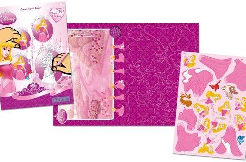 Sihirli Çıkartma Birleştir-Çiz-Boya - Disney Princess