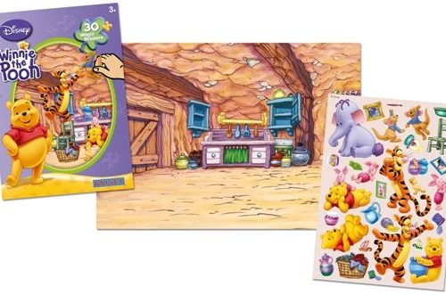 Sihirli Çıkartma Seti - Disney Winnie The Pooh