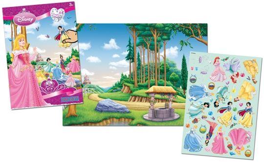 Sihirli Çıkartma Seti - Disney Princess