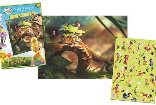 Sihirli Çıkartma Seti - Disney Fairies Tinkerbell