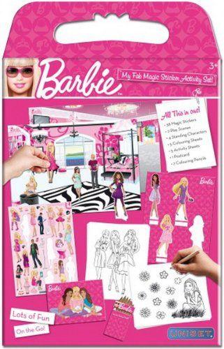 Sihirli Çıkartma Aktivite Seti - Barbie