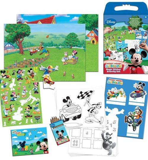 Sihirli Çıkartma Aktivite Seti - Disney Mickey Mouse Clubhouse