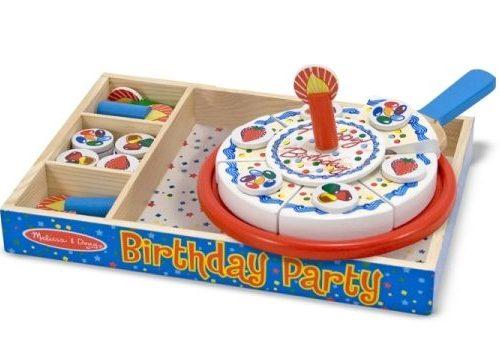Melissa & Doug Ahşap Doğum Günü Partisi