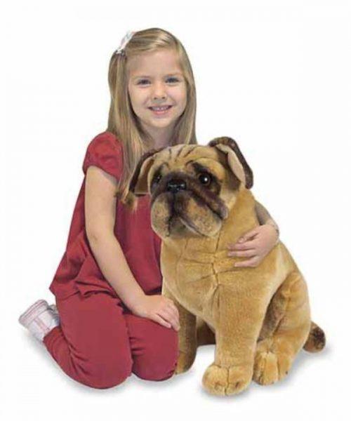 Melissa & Doug Dev Peluş Köpek - Pug