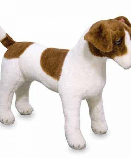 Melissa & Doug Dev Peluş Köpek - Jack Russel Terrier