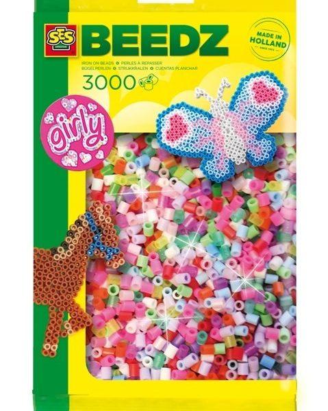 Beedz- Ütü Boncukları 3000 parça - kızlar için