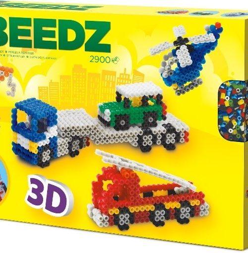 Beedz- Ütü Boncuk Seti - 3 Boyutlu Araçlar