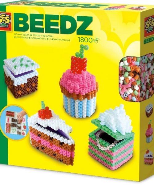 Beedz- Ütü Boncuk Seti - 3 Boyutlu Pastalar