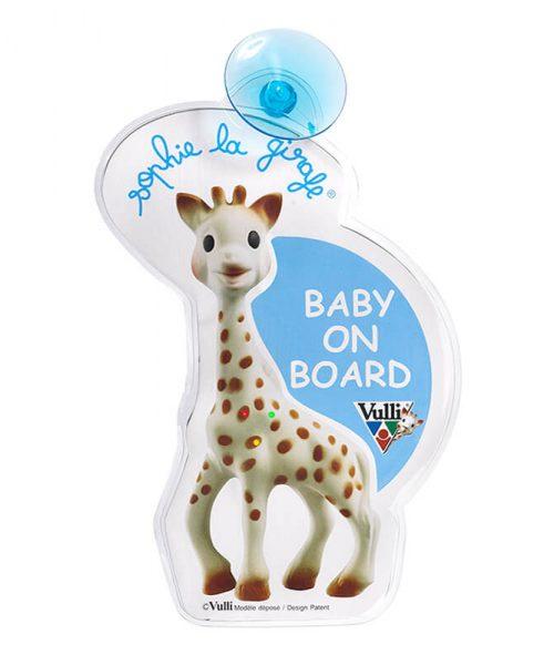 Sophie La Girafe Arabada Bebek Var
