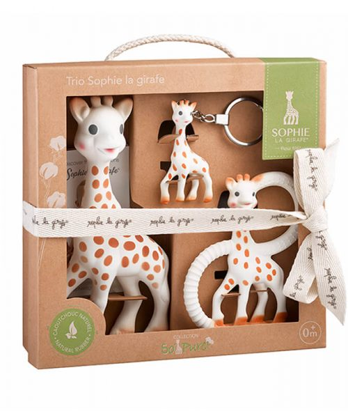Sophie La Girafe+So Pure Trio Set