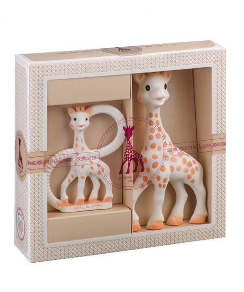 Sophie La Girafe Sophiesticated Yeni Doğan Seti 1