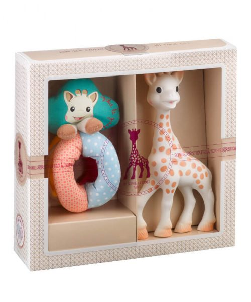 Sophie La Girafe Sophiesticated Yeni Doğan Seti 2