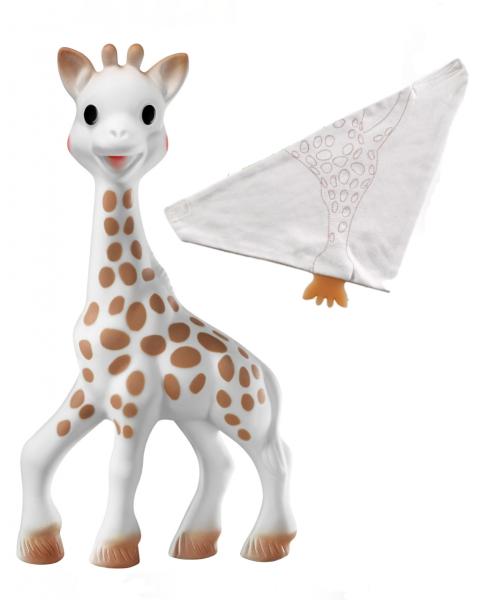 Sophie La Giraffe Diş kaşıyıcı & So Pure Bandana