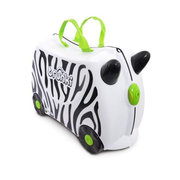 Trunki Çocuk Bavulu - Zimba Zebra