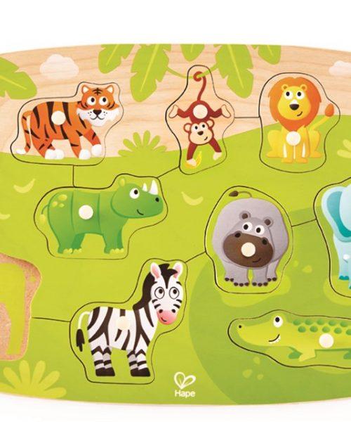 Vahşi Hayvanlar Yapboz