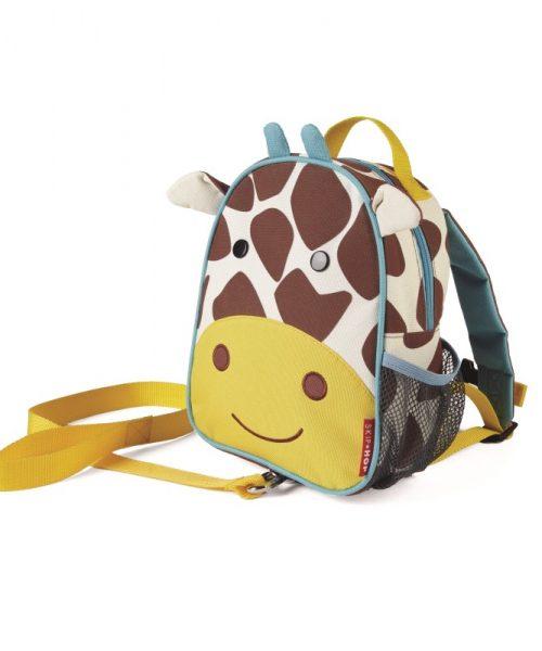Emniyet Kemerli Sırt Çantası Zürafa