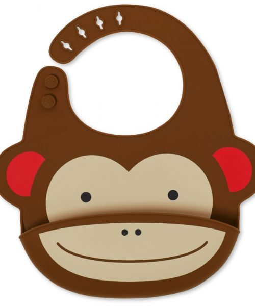 Zoo Silikon Önlük Maymun