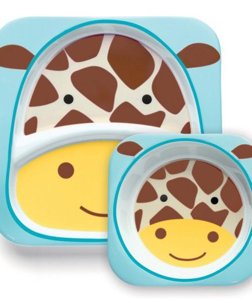 Tabak ve Kase Hediye Seti Zürafa