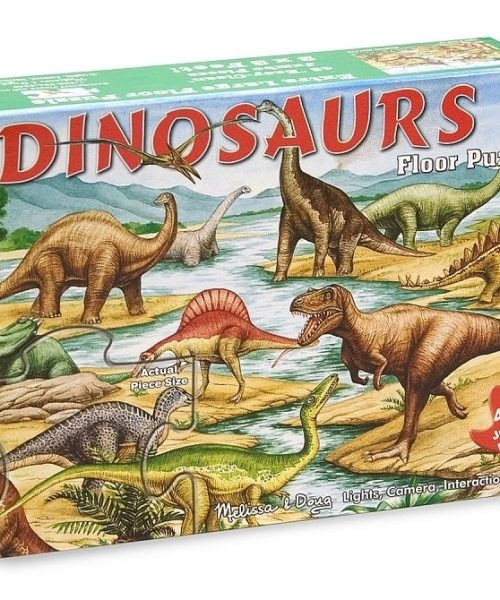 Melissa & Doug Dev Yer Yapbozu- Dinozorlar (48 parça)