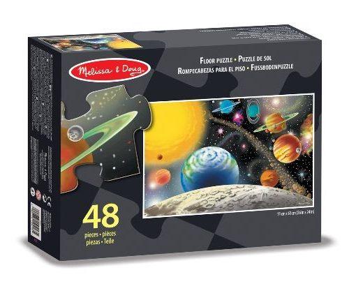 Melissa & Doug Dev Yer Yapbozu- Güneş Sistemi (48 parça)