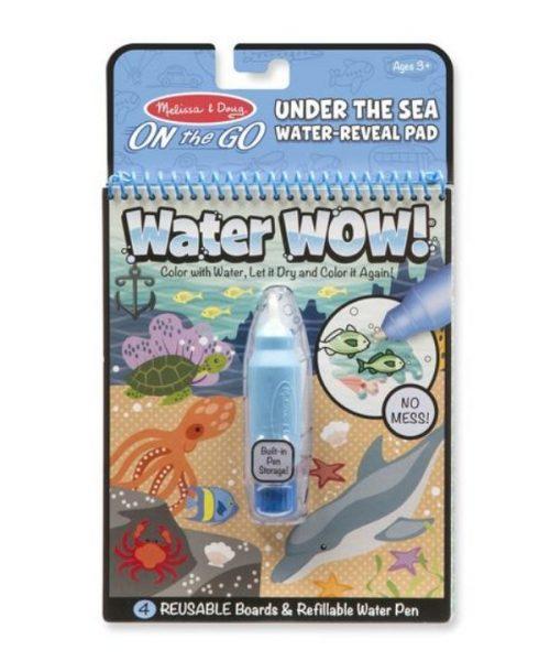 Water Wow! Su ile boyama kitabı - Deniz