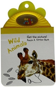 Baby Rattle Photo Book: Wild animals